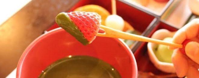 岐阜抹茶チョコレートフォンデュ 体験型ホットスイーツ 限定メニュー