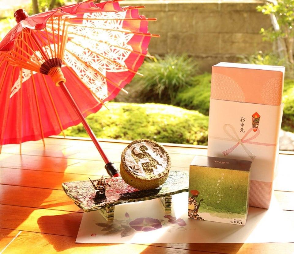 抹茶の踊り子ショコラ お中元 2個セット
